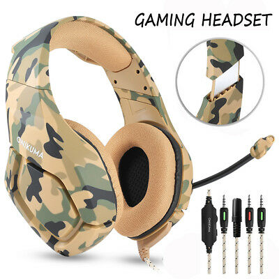 ONIKUMA K1 Gaming Headset Wired Stereo PC Headphone Mic for PS4 New Xbox One