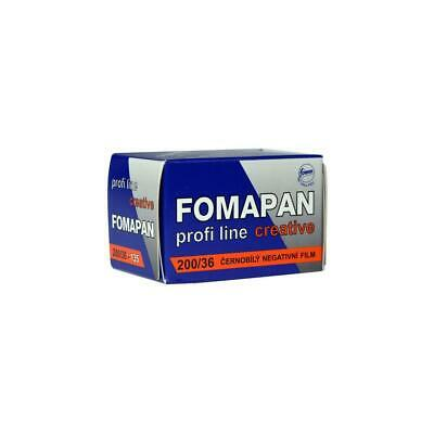 Foma Fomapan 200 Creative 35mm Black and White Negative Film, 36 Exposures