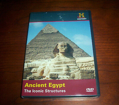 ANCIENT EGYPT Iconic Structures Egyptians Temples Sphinx History Channel DVD NEW