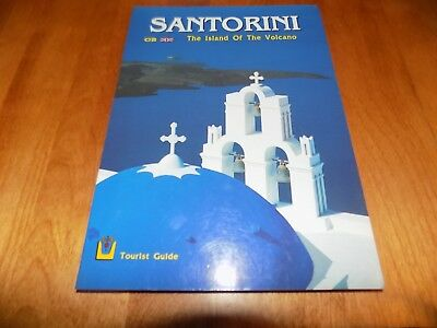 SANTORINI Island of the Volcano Ancient Greece Artifacts Towns Greek Guide Book
