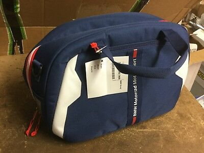 BMW Motorrad Motorsport Blue Helmet Bag NEW