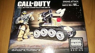Desert Squad Figure From Mega Bloks Call Of Duty Drone Attack #06813