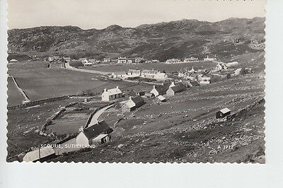 Elevated view of Scourie, Sutherland