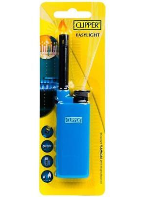 Clipper Easylight Gas Lighter Long For Candle Bbq Barbecue Firework Fire Pit Hob
