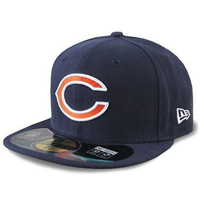New Era NFL Chicago Bears On Field 59Fifty Fitted Baseball Cap rrp£30