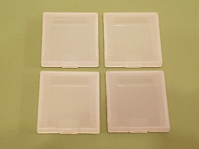 4 Official Nintendo Game Boy Original Plastic Protective Clear Game Cases