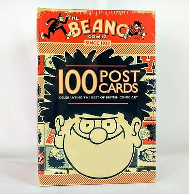 The Beano Comic 100 Postcards - New and sealed