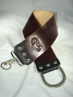 "Brand New HANDMADE 3"" Wide x 22"" ""HORWEEN"" CORDOVAN HORSE SHELL LEATHER STROP"