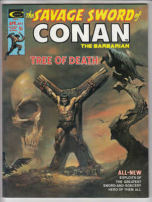 Savage Sword Of Conan #5 Vf+ 8.5