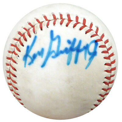 26db45232ac Ken Griffey Jr. Autographed Signed Baseball Mariners Vintage Beckett BAS  125072