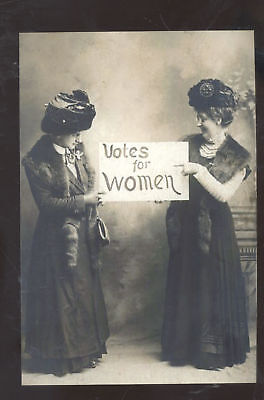 Votes For Women Real Photo Suffragette Postcard Copy