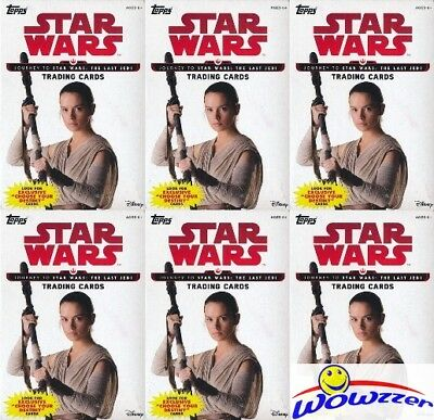 (100) 2017 Topps Star Wars Journey to The Last Jedi EXCLUSIVE Sealed Hanger Box