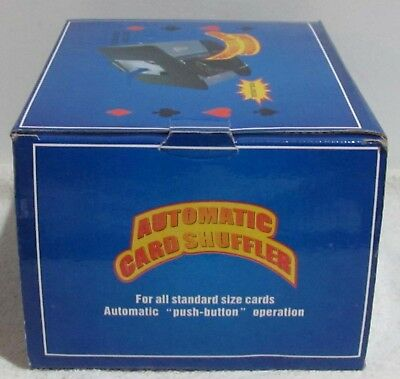 Janmor Automatic Battery Operated 4 Deck Playing Card Shuffler (New)