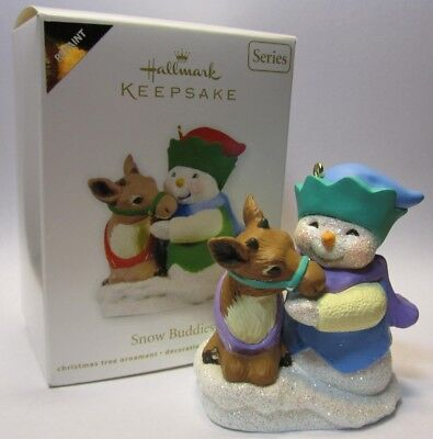 Hallmark Keepsake Ornament 2011 Snow Buddies Repaint #14 in Series Colorway NEW