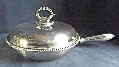 SUPERB Complete ~ SILVER Plated ~ 'Heated' SERVING PAN ~ c1890 by James Dixon