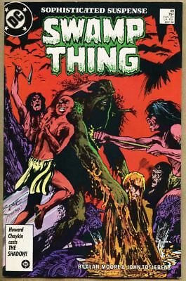 Swamp Thing #48-1986 vf/nm 9.0 Alan Moore Roy Raymond 1st Bog Venus