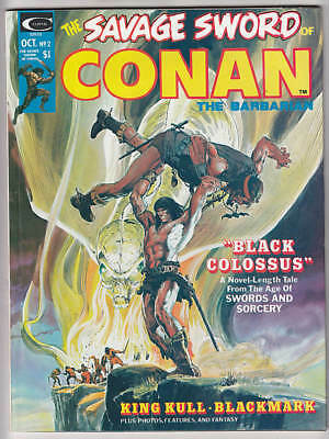 Savage Sword Of Conan #2 F/vf 7