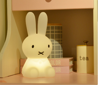 Miffy Rabbit LED Night Light Character Touch Dimmable Lamp for Baby Children New
