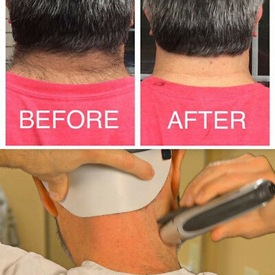 Barber's Edge Trim Your Own Neckline Without Mirror Cut Your Neck Hair Template