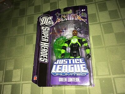 "Green Lantern DC Super Heroes Justice League Unlimited 4"" Figure IP Purple"