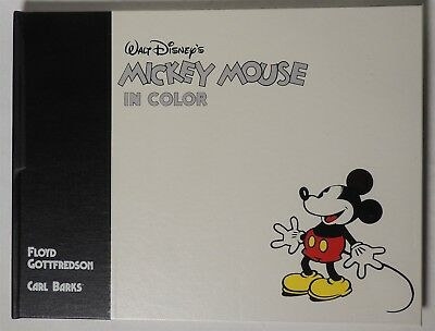 ESZ9267. Walt Disney MICKEY MOUSE in Color Publisher's Proof Hardcover Book 1988
