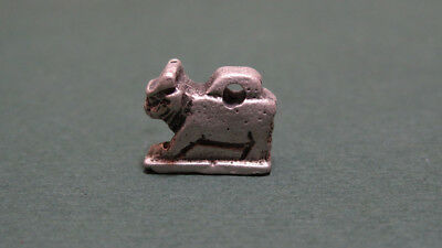 ANCIENT SILVER APIS BULL PENDANT LATE PERIOD 716-30 BC. * Holiday reduced prices