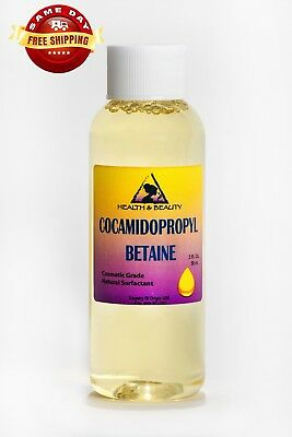 Cocamidopropyl Betaine Coco Betaine Natural Surfactant Liquid 100% Pure 2 Oz