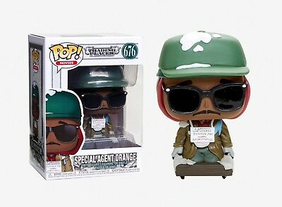 Funko Pop Movies: Trading Places - Special Agent Orange Vinyl Figure Item #34887