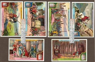 Scottish King Robert The Bruce Set Of 6 c1920 Trade Ad Cards
