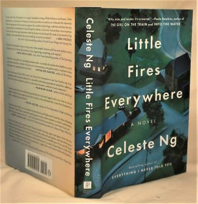 LITTLE FIRES EVERYWHERE, Celeste Ng, SIGNED, 1st/2nd. New