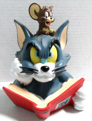 """Tom & Jerry Coin Bank 1977 9"""" Tall"""