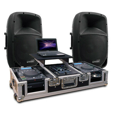 DJ Sound System | PA Musikanlage | CORE SCRATCH 2018 Trolley Case | Ready-To-Go!