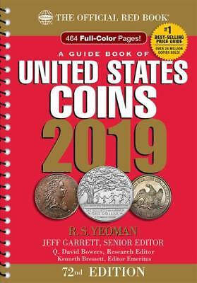 The Official Red Book: A Guide Book of United States Coins 2019, 72nd Edition