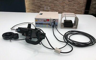Nidek GYC 1000 Green Argon 532 Ophthalmic Laser Zeiss Style Delivery Attachment