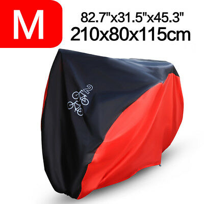 210CM Waterproof Bicycle Bike Cover Sun/Rain/Snow/Dust Proof UV Protector Size M