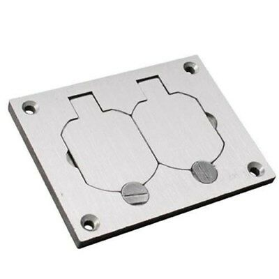 Wiremold 828R-TCAL 1-Gang Cover Plate With Flip Lid 4-5/16 In x 3-1/4 In Omnibox