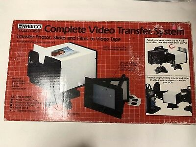 Ambico Complete Video Transfer System MV-0655