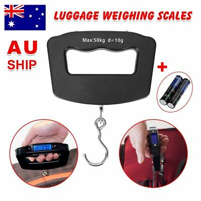 OZ_Electronic Digital Portable Scale Luggage Weight Hanging Travel 50 KG 10G GO