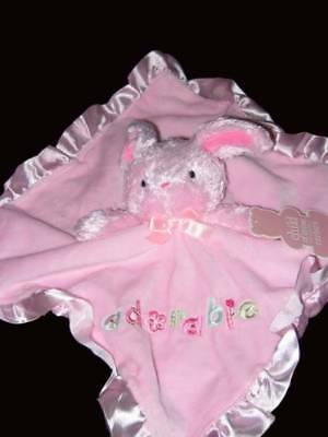 Carters child of Mine lovey security blanket Adorable pink Bunny  NWT