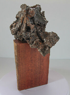 """""""THE OTHER STONE""""Abstract Sculpture. Unclassified Meteorite/Impact Melt Rock"""