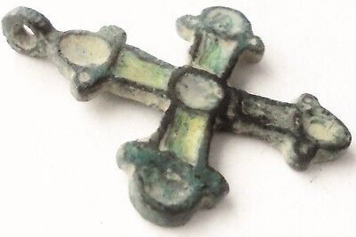 BEAUTIFUL RARE  6th to 8th CENTURY ANTIQUE CHRISTIAN BYZANTINE CRUCIFIX PENDANT
