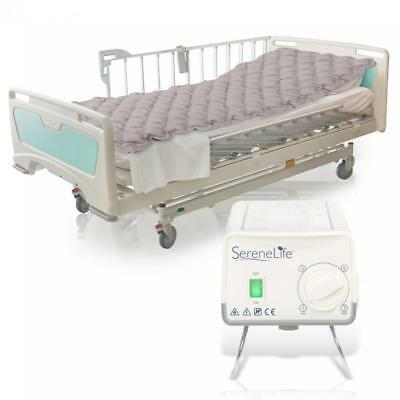 Hospital Bed Air Mattress - Bubble Pad Mattress with Electric Air Pump