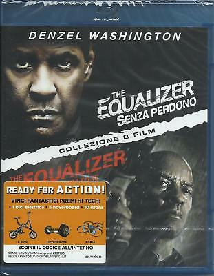 The equalizer1 & 2 (2018) 2 Blu Ray