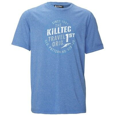 Killtec Fain JR Kinder T-Shirt blau