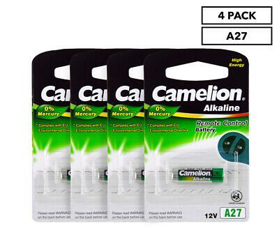 4 x Camelion Plus Alkaline A27 Battery