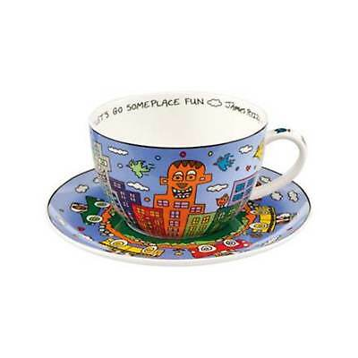 "GOEBEL James Rizzi ""Let's Go Out for Fun"" Cappuccinotasse - 26102031"