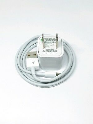 USB Wall Charger +3ft Lightning Cord Cable For Apple iPhone 6 6s 7 8 Plus X OEM
