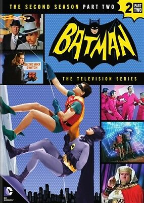 BATMAN THE TELEVISION SERIES THE SECOND SEASON 2 PART TWO 2 New Sealed 4 DVD Set
