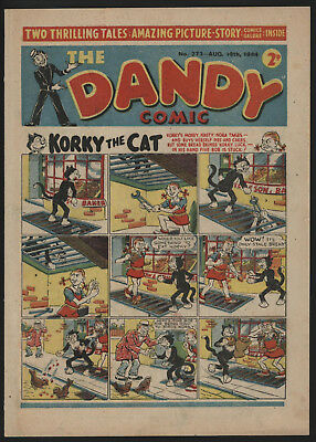 Dandy Comic #273, Aug 19Th 1944, 2Nd Ever Appearance Of Uk's 1St Superhero