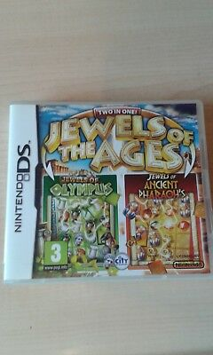Jewels Of The Ages Olympus And Ancient Pharaohs Great 2 In 1 Nintendo Ds Game